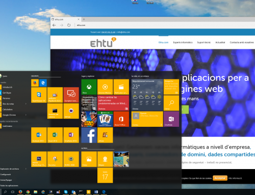 Actualitzat a Windows 10!