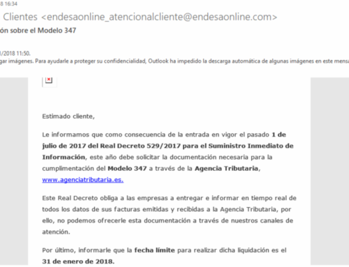 Atenció possible mail phishing de Fecsa Endesa
